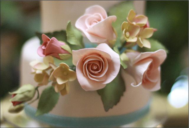 Wedding - Roses & Hydrangea